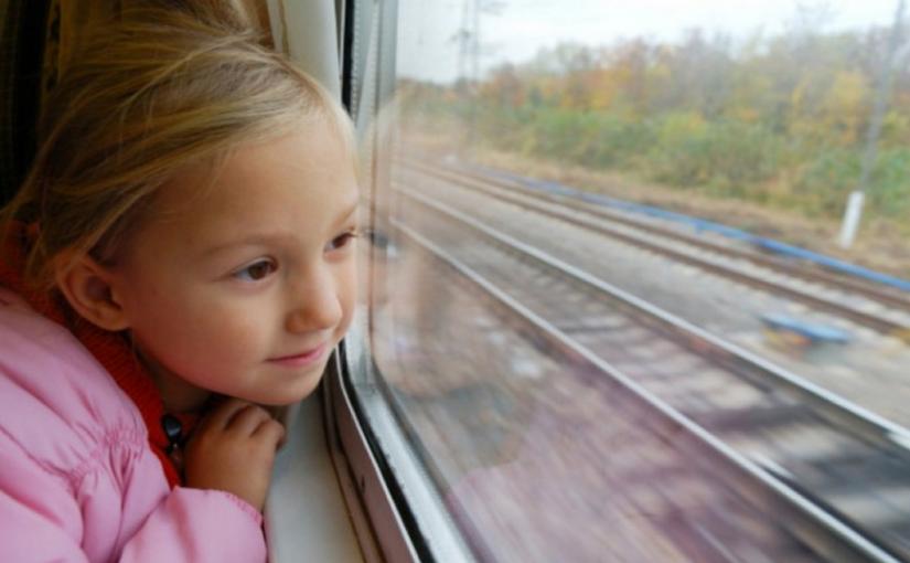 из владивостока до Санкт-Петербурга на поезде
